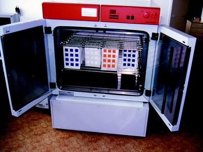 klimatizační komora pro umělé stárnutí