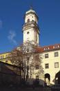 Astronomická věž  - pohled z nádvoří