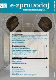 Nové číslo e-zpravodaje Národní knihovny