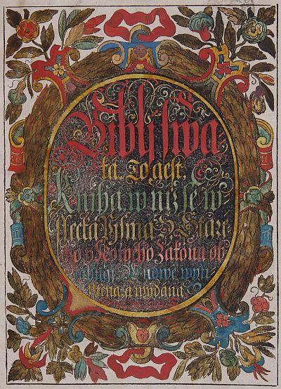 Bible kralická 1613-2013