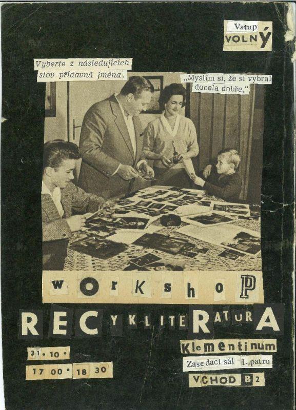 Recykliteratura s Vojtěchem Maškem