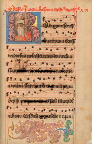 Mimořádné vystavení dvou rukopisů