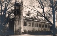 Místodržitelský letohrádek v Královské oboře – původní sídlo Slovanské knihovny