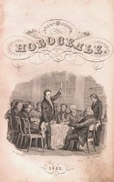 Titulní list sborníku Novosel'je z roku 1833